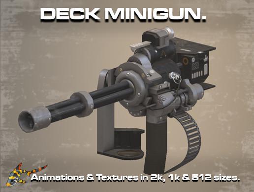 Deck MiniGun
