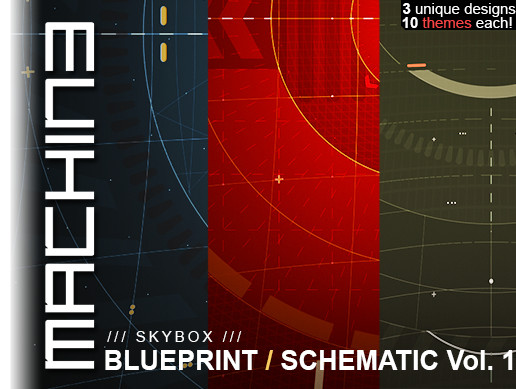 Blueprint / Schematic - Skybox - Volume 1