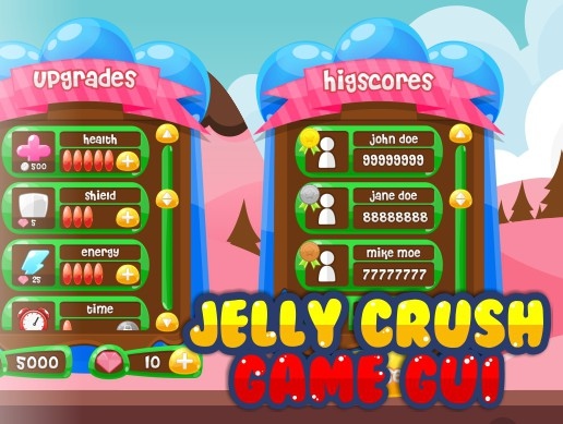 Jelly Game GUI