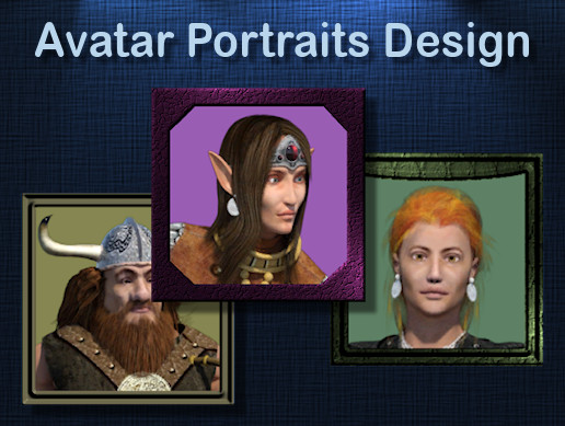 Avatar Portraits Design Vol 1
