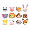 Cartoon Animal Head Pack