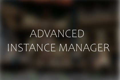 Advanced Instance Manager