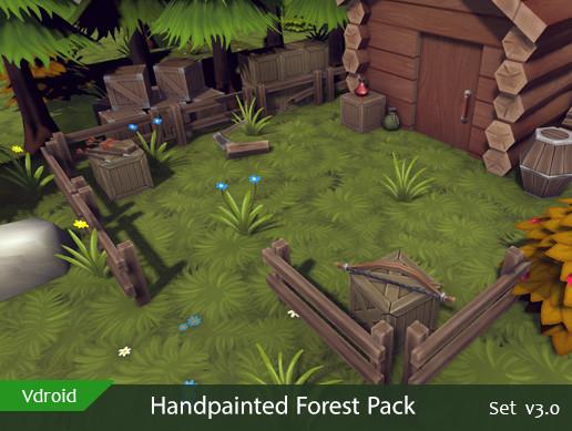 Handpainted Forest Pack v3.0