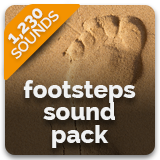 Footsteps Sound Pack