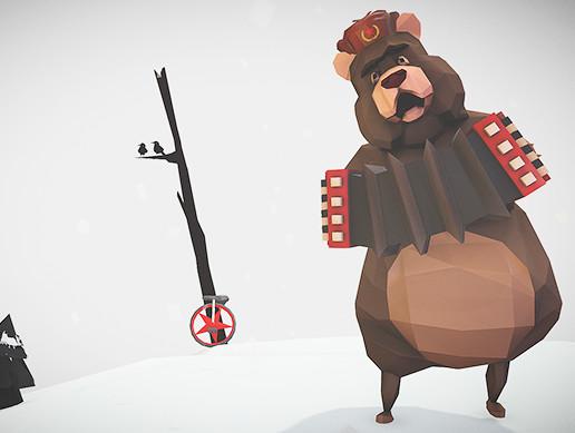 Soviet Circus Bear