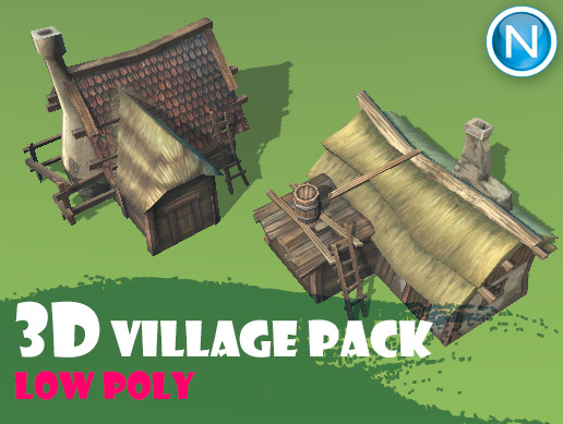 Low-poly Village Pack