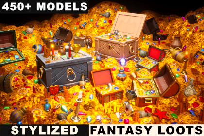 STYLIZED - Fantasy Loots Pack