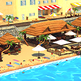 Cartoon Summer Beach Pack
