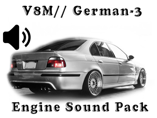 V8 M// German - Engine Sound Pack - 3