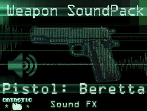 Weapon Sound Pack - Pistol: Beretta 92