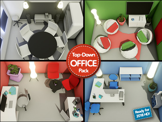 Low Poly Office Megapack