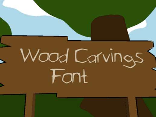 Wood Carvings (Font)