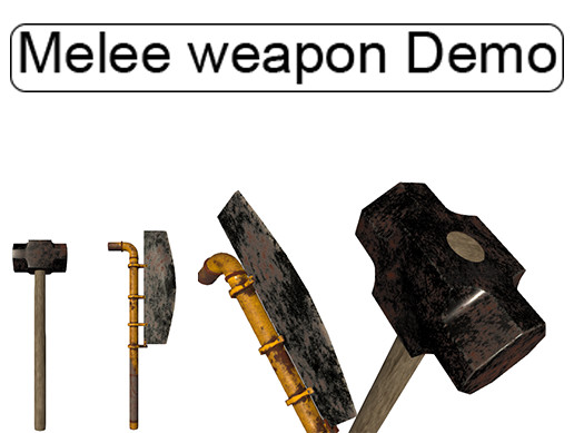 Melee weapon Demo