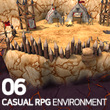 Casual RPG Environment 06