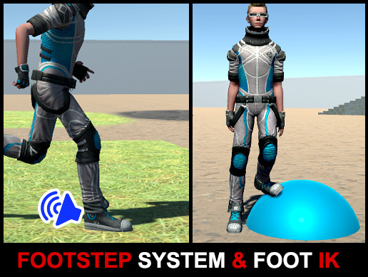 Footsteps Sound System & Foot Placement IK
