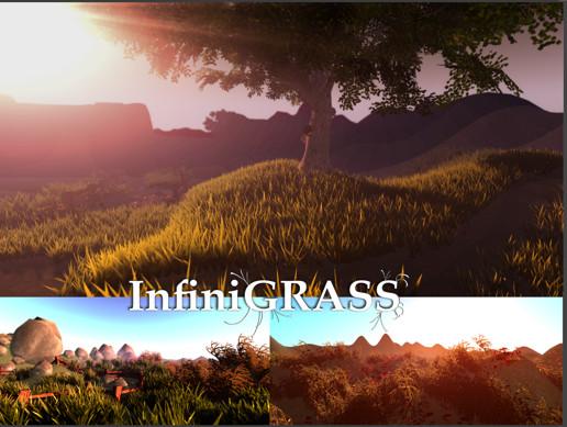 InfiniGRASS - Next Gen Interactive Volume Grass