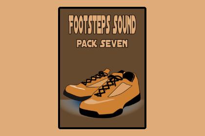 Footsteps Sound pack Seven
