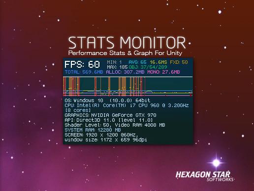 Stats Monitor - Asset Store