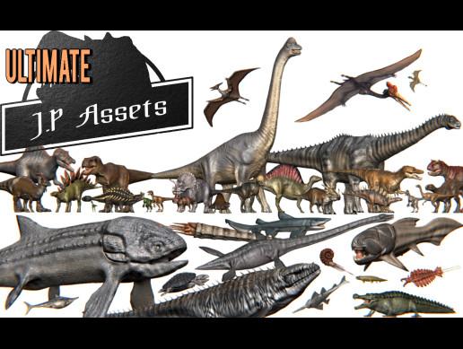 """Ultimate"" Jurassic Pack Dinosaurs"