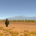 Desert Race Track Level