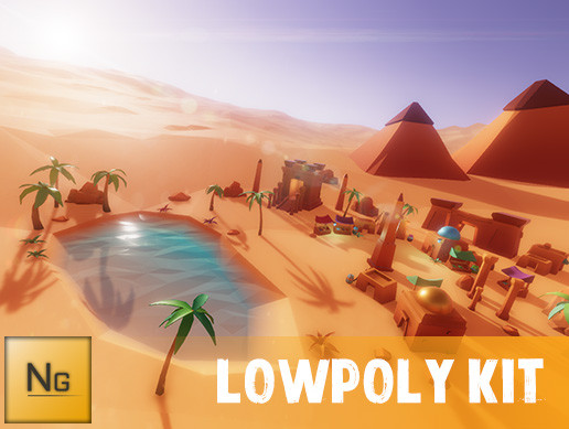 EgyptianVillagePack_LowPoly