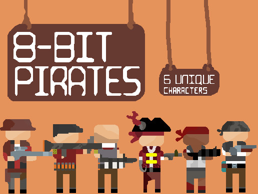 [2D] 8Bit Pixel Character Pack
