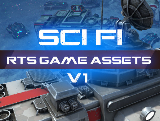 RTS Sci-Fi Game Assets v1