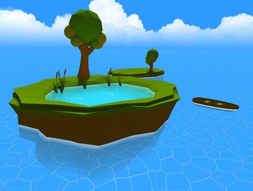 Cartoon Water Shader