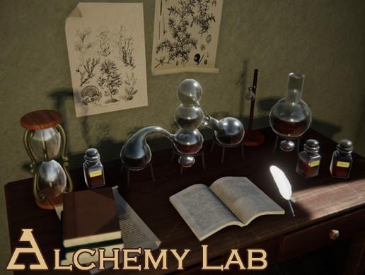 PBR Alchemy Lab 2.0