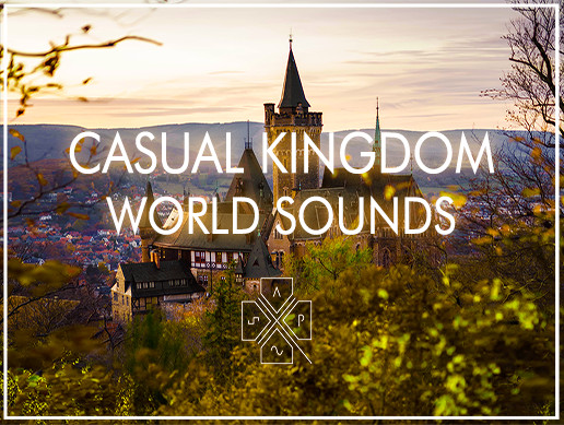 Casual Kingdom World Sounds - Click, Menu and Action Sounds