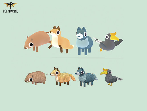 Forest Animals - Quirky Series