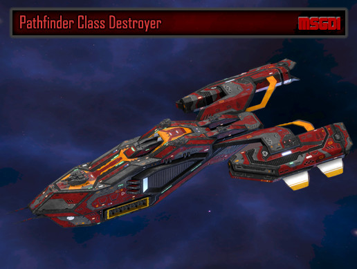 Scifi Destroyer Pathfinder
