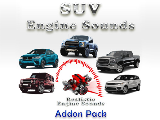 SUV Engine Sounds - RES Addon