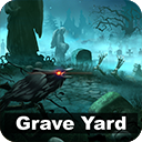 2D Graveyard Pack - Handcrafted Art