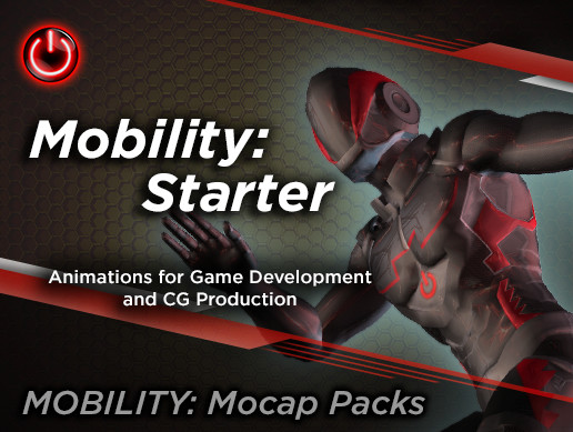MOBILITY STARTER: MoCap Animation Pack