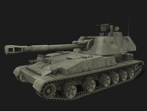Tank 2s3 Akatsiya