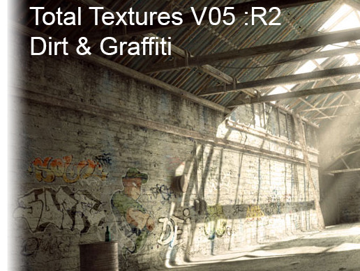 Total textures V05:R2 Dirt & Graffiti