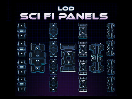 LOD Sci Fi Panels