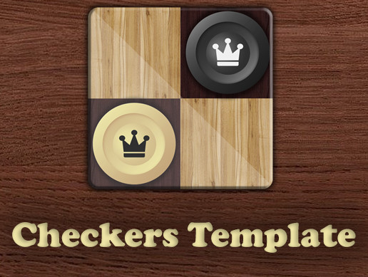 Checkers Template