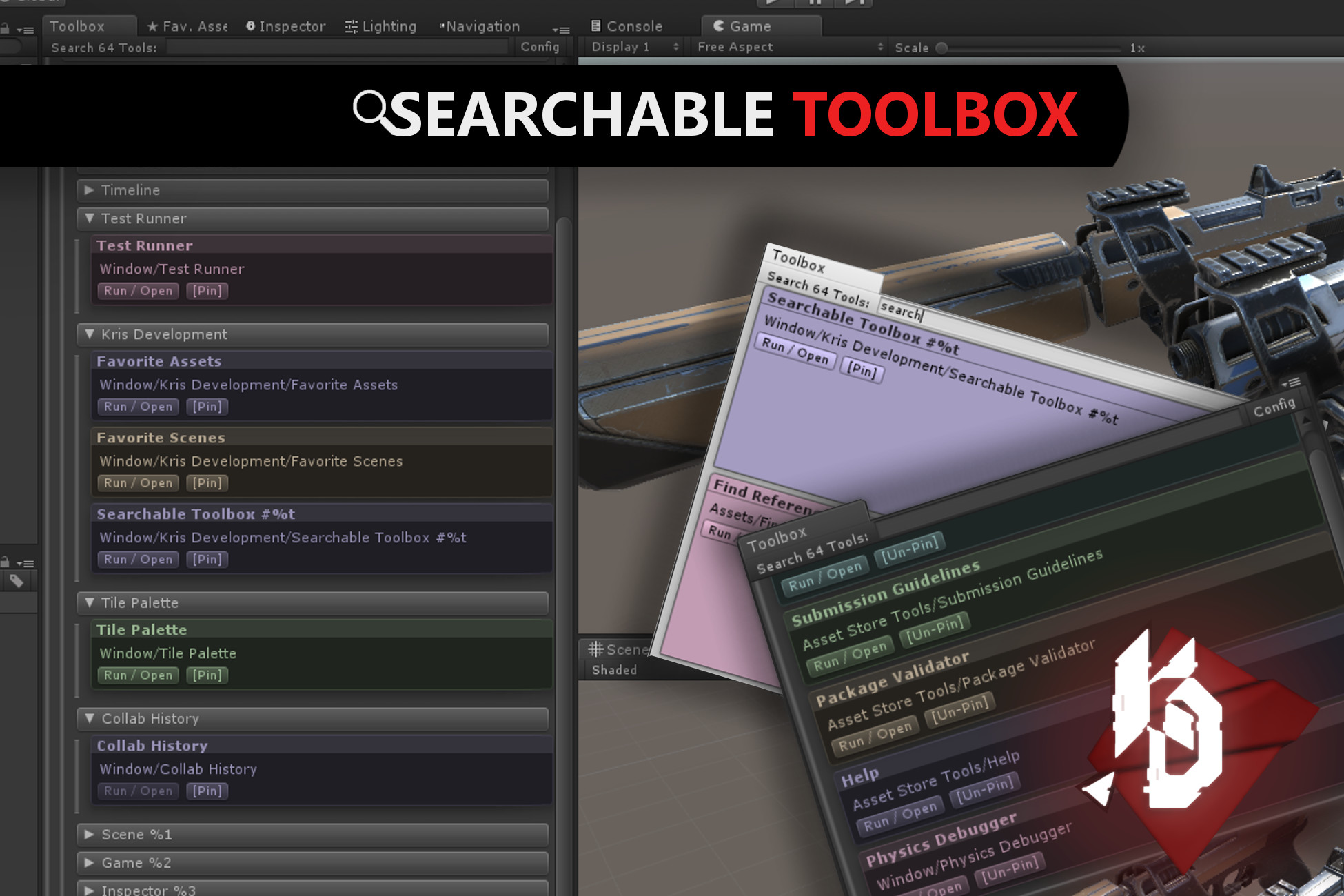 Searchable Toolbox