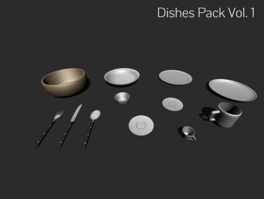 Dishes Pack Vol. 1
