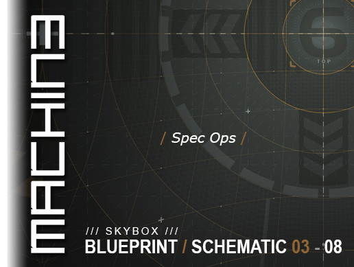 Blueprint / Schematic - Skybox 03 - 08 Spec Ops
