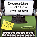 Typewriter & Fade-in Text Effect