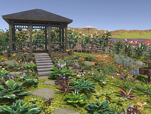 Garden Flowers and Plants Nature Pack