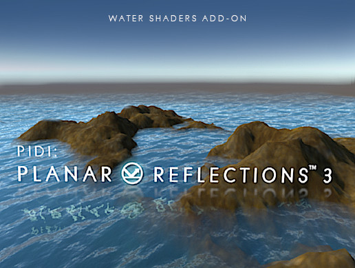 PIDI : Planar Reflections 3 - Water Add on