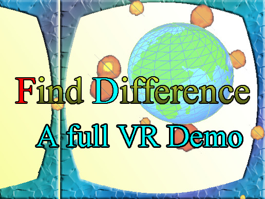 3D Find Difference Full VR Demo compatible with baofeng mojing SDK