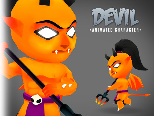 Devil animated character