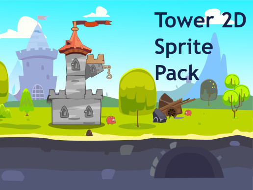 Tower 2D Sprite Pack