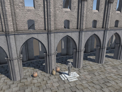 Cathedral Elements PBR