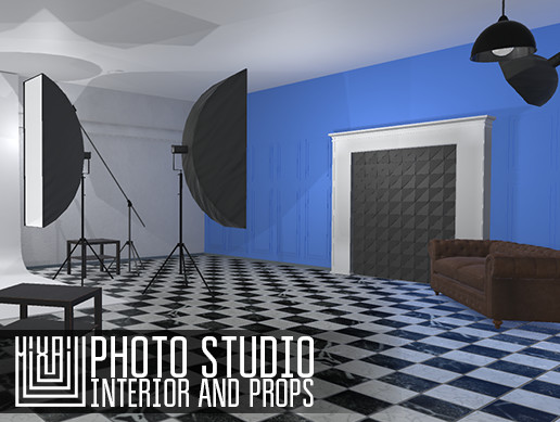Photo studio - interior and props